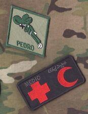 USAF AIR EXPEDITIONARY WING COMBAT PARARESCUE JUMPER PJ PEDRO MEDIC vel©®Ø SET