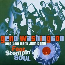GENO WASHINGTON/RAM JAM BAND - Foot Stompin' Soul [Live+Studio] [2xCD 2006] RARE