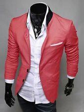 New Stylish Men's Casual Slim Coat Jacket Tops SIZE M #10