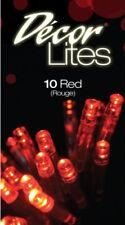 Tiras de luces de interior de dormitorio de plástico de color principal rojo