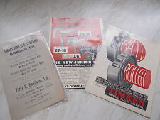 3 Old Paper Adverts -from The 1930's - Black & Decker / Timken Roller Bearing +