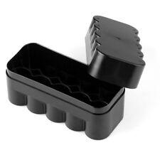US - Plastic case container 10 rolls 120 format film Kodak Fuji Agfa Lomo BLACK