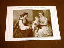Firenze nel 1911 Mostra del ritratto italiano Angelica Kauffmann - In Famiglia