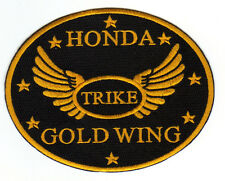 """HONDA GOLD WING TRIKE PATCH, SMALL OVAL APPROX 5.5"""" WIDE                       Y"""