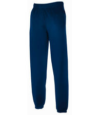 Fruit Of The Loom Mens Elasticated Cuff Jog Pants / Jogging Bottoms - Size S-XXL