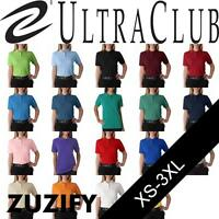 UltraClub Ladies Classic Pique Cotton Polo Shirt. 8530