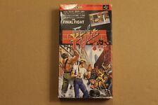 SNES FINAL FIGHT COMPLETE GAME 100% ORIGINAL JAPANESE VERSION