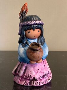DeGrazia Goebel 1997 Tiny Treasure Figurine Numbered 10 453 11