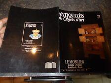 Antiquités Objets d'Art Mobilier : Ancien Meuble Coffre Fauteuil Table Chaise