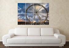 Large Ferris Wheel (02) Big Fun Fair Wall Carriage Poster Art Picture Print