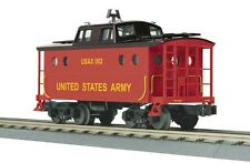 MTH Train O Scale N5c Caboose United States Army 30-77200 NIB