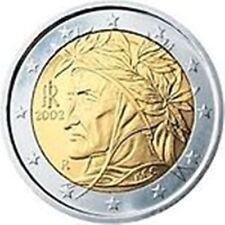 Moneta Coin ITALIA - 2 euro - anno 2012 Dante Alighieri - FDC da rotolino orig.