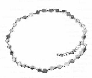 950 Platinum 16 Inch Choker Chain Necklace Fine Jewelry-Gift For Her