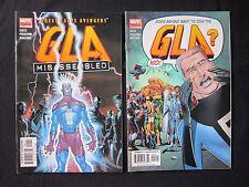 GREAT LAKES AVENGERS MISASSEMBLED 1 2 3 4 COMPLETE RUN Set Marvel Comics Lot GLA