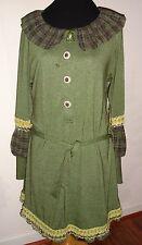 NUVULA ORIGINAL DESIGN GREEN DRESS BELT L DIFFERENT GORGEOUS !!!