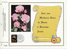 FEUILLET CEF / DOCUMENT PHILATELIQUE / MONACO / FLORE / FLEUR 1979