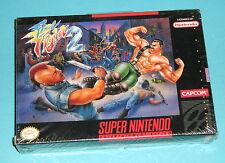 Final Fight 2 (Super Nintendo SNES) SEALED BRAND NEW RARE capcom