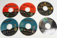 4 Nintendo Gamecube Game Disc Only Lot Metroid Prime 2 Golden Eye Resident Evil