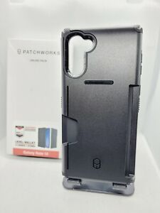 PATCHWORKs Samsung Galaxy Note 10 Black Card Slot Case