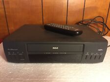 Vintage RCA VR525 VCR Plus VHS Player / Recorder and REMOTE