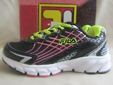 Fila Core Callibration Sneakers Toddler Youth Girls 11 Black Pink Green New