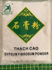 FOOD GRADE GYPSUM POWDER TOFU COAGULANT 4 Oz (113g) CALCIUM SULFATE Super Brand