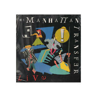 The Manhattan Transfer LP Vinyl Live / Atlantic ‎781 723-1 Versiegelt