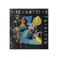 The Manhattan Transfer LP Vinyl Live / Atlantic 781 723-1 Versiegelt