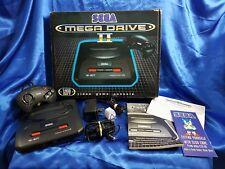 Sega MEGA DRIVE II 2 CONSOLE + CONTROLLER + Leads + Manual Boxed PAL Official