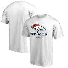 NWT NFL ProLine by Fanatics Denver Broncos Football 2XL White Cotton T-shirt