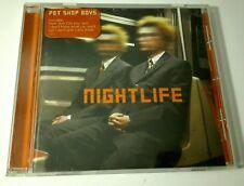 PET SHOP BOYS - NIGHTLIFE - POP BRITANICO -  12 TRACKS