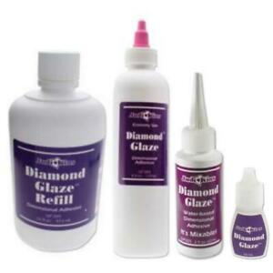 Judikins Original Diamant Glasur Dimension Klebstoff Cabochon Glas Ausführung