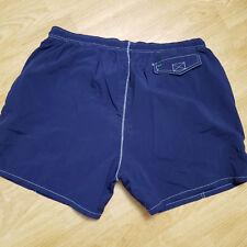 Tommy Hilfiger Azul Marino Nailon Forrado con Malla Shorts Playeros XL A64-17