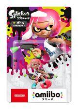 Nintendo Switch amiibo Splatoon 2 Inkling Girl Neon Pink Japan