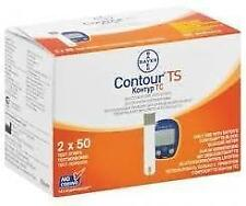 Bayer Contour TS 100 Test Strips without box  Exp. 11.2018