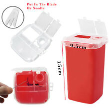 Plastic Tattoo Medical Sharps Containers Biohazard Needles Disposal Waste Box