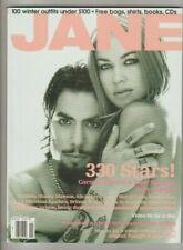 Jane Magazine Carmen Electra & Dave Navarro November 2001 Good Condition