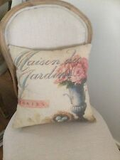 French Country 100% Linen Decorative Cushions & Pillows