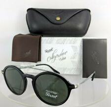 Brand New Authentic Persol Sunglasses 3172-S 95/31 Calligrapher 51mm Black 3172