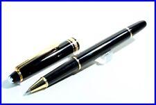 MONTBLANC CLASSIQUE 163 Masterpiece Rollerball Pen / Black + Gold Meisterstück