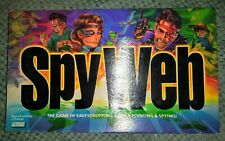 1997 Parker Brothers SPY WEB Game of Eavesdropping, Finger-Pointing & Spying .