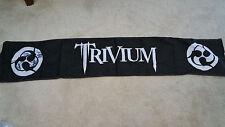 Trivium band signed autograph banner