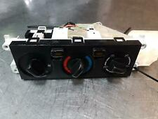 NISSAN PATROL HEATER/AC CONTROLS FRONT, NON CLIMATE CONTROL TYPE, Y61/GU, 12/97-