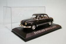 Ixo / Altaya - PANHARD DYNA Z 1953 noir 1/43