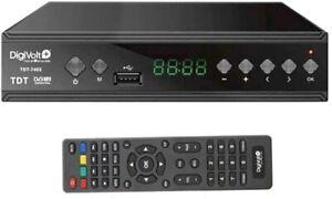 Digivolt TDT 7403 HD DVBT-2 SINTONIZADOR Grabador Alta Definición USB Rec