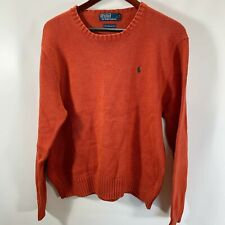 Polo by Ralph Lauren Sweater Pullover Crew Neck 100% Pima Cotton Size XL
