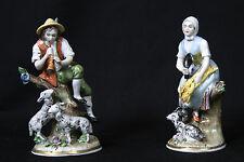 Personnages de Saxes, paire, Scheibe / Pair of figures of Saxe, Porcelain Scheib