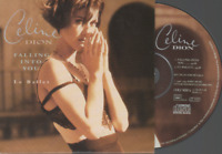 Celine Dion Falling Into You CD SINGLE card sleeve