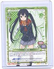 Precious Memories K-ON Azusa Nakano silver foil signed TCG Anime card v3  #2