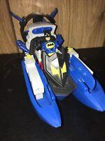 Fisher Price Imaginext DC Super Friends Batman Bat Boat 2014 Vehicle W/ Figure!!